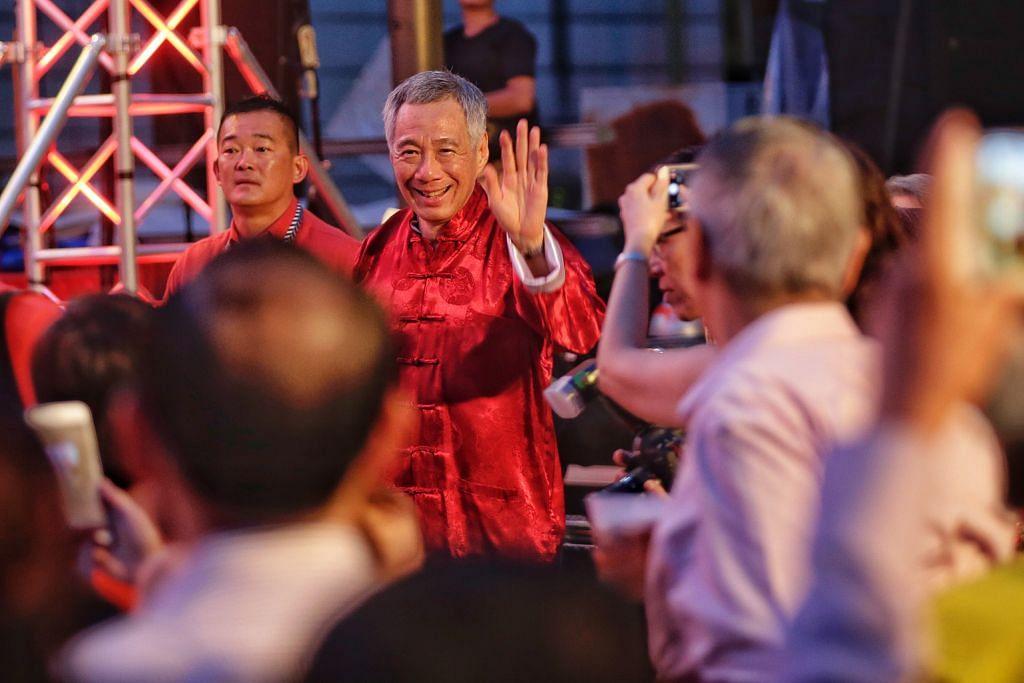 Kemeriahan sempena sambutan Tahun Baru Cina