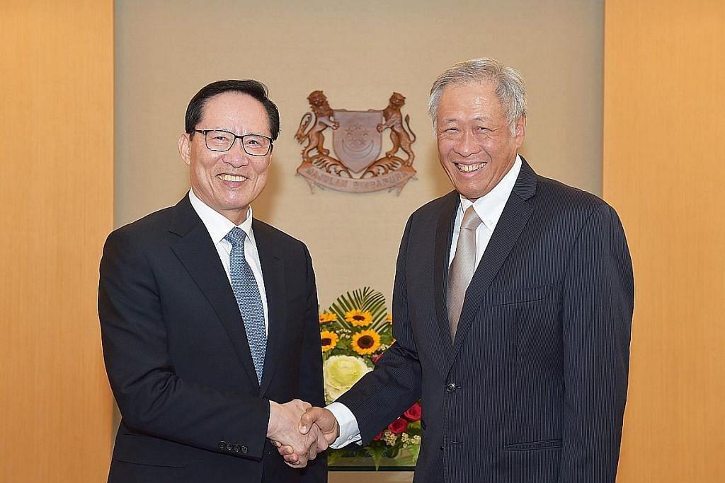 Menteri Pertahanan Korea S temui Eng Hen