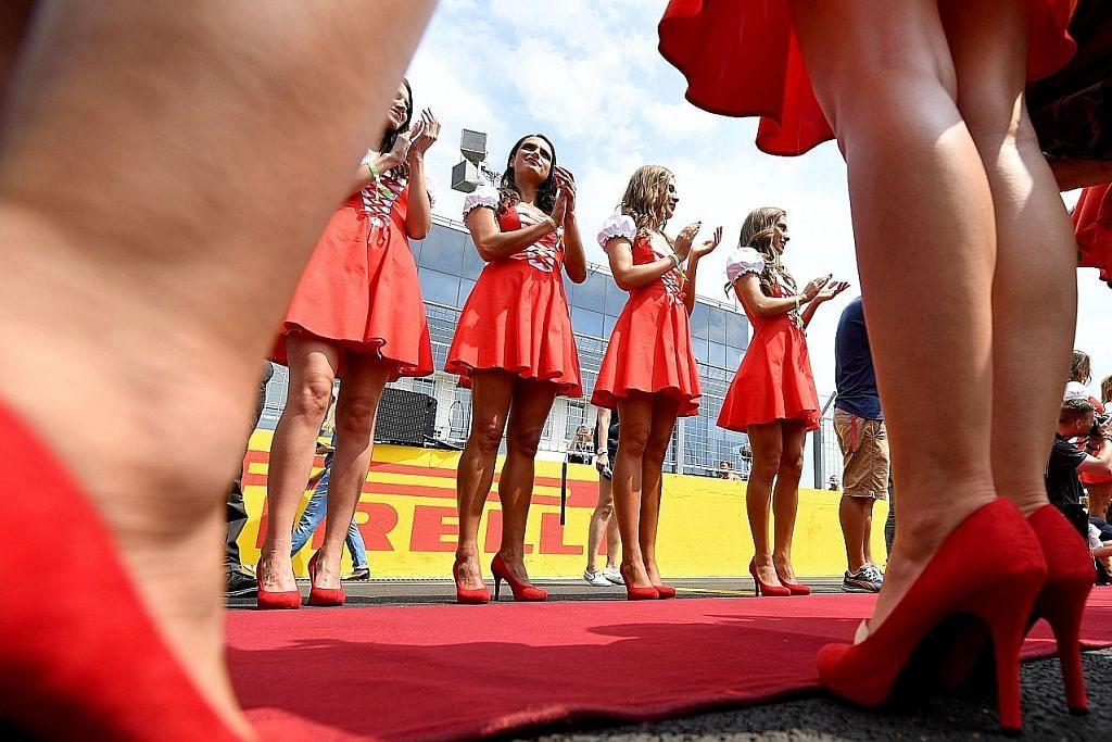 Tiada lagi 'grid girls' bagi Formula Satu