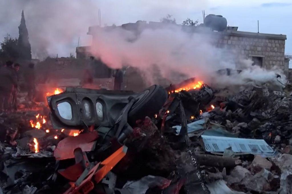 Penduduk alami kesukaran bernafas selepas serangan udara rejim Syria