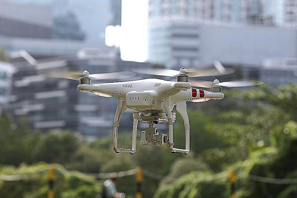 Estet dron pertama S'pura uji kaji lima projek
