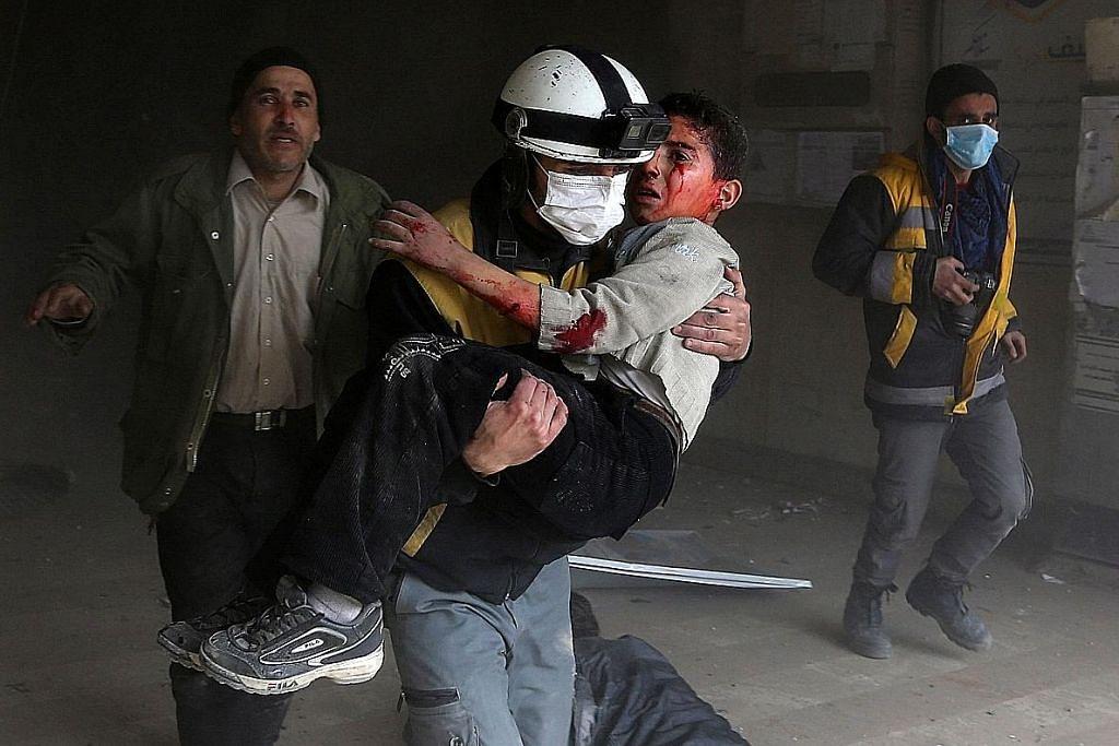 Ratusan orang awam, pejuang propemerintah Syria maut