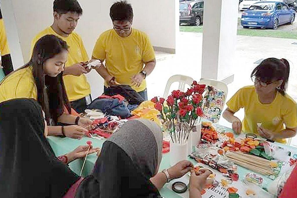 Sukarelawan 'sejuk hati' lihat senyuman golongan dibantu
