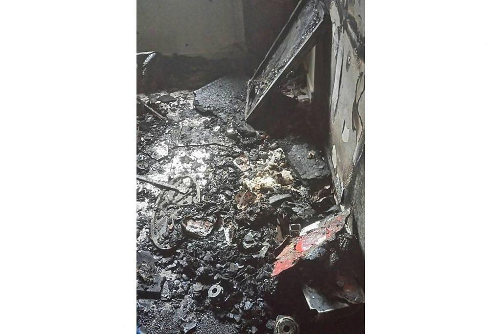 Usaha kumpul dana baiki flat yang dijilat api