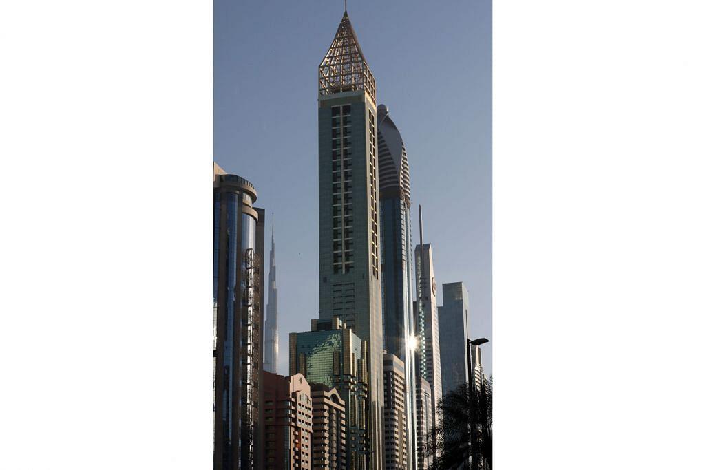 Hotel tertinggi baru di dunia tetap di Dubai