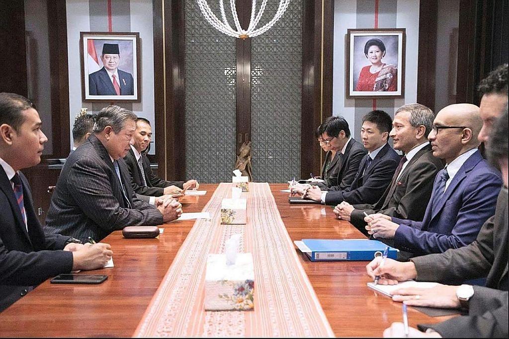 Vivian, SBY bincang isu serantau, jagat