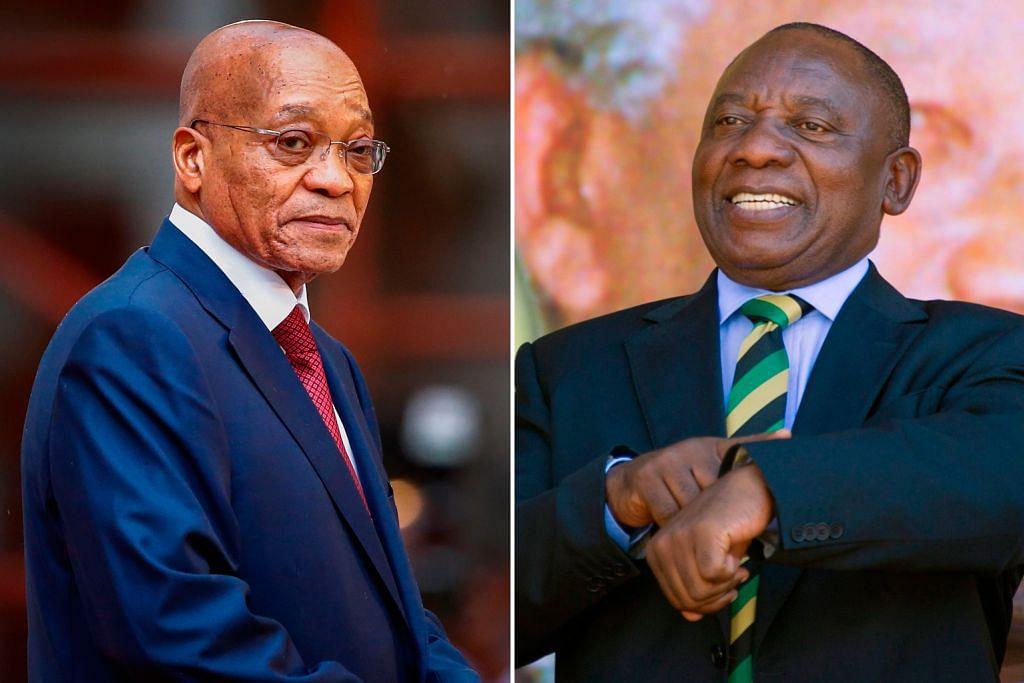 Presiden Zuma akhirnya tunduk dek tekanan