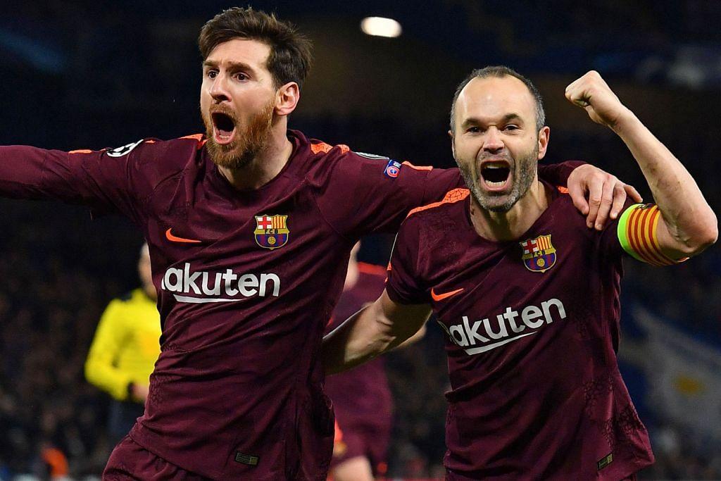 Messi tamatkan kemarau jaringan bertemu Chelsea
