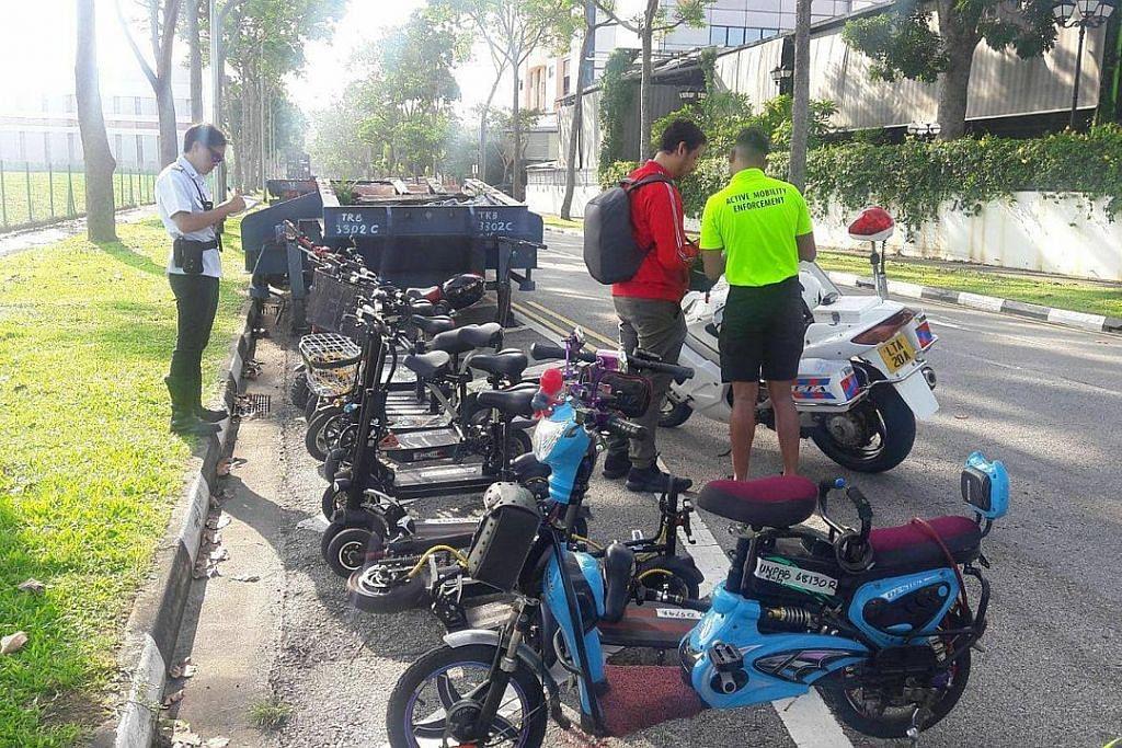 Panel penasihat saran semua e-skuter didaftar