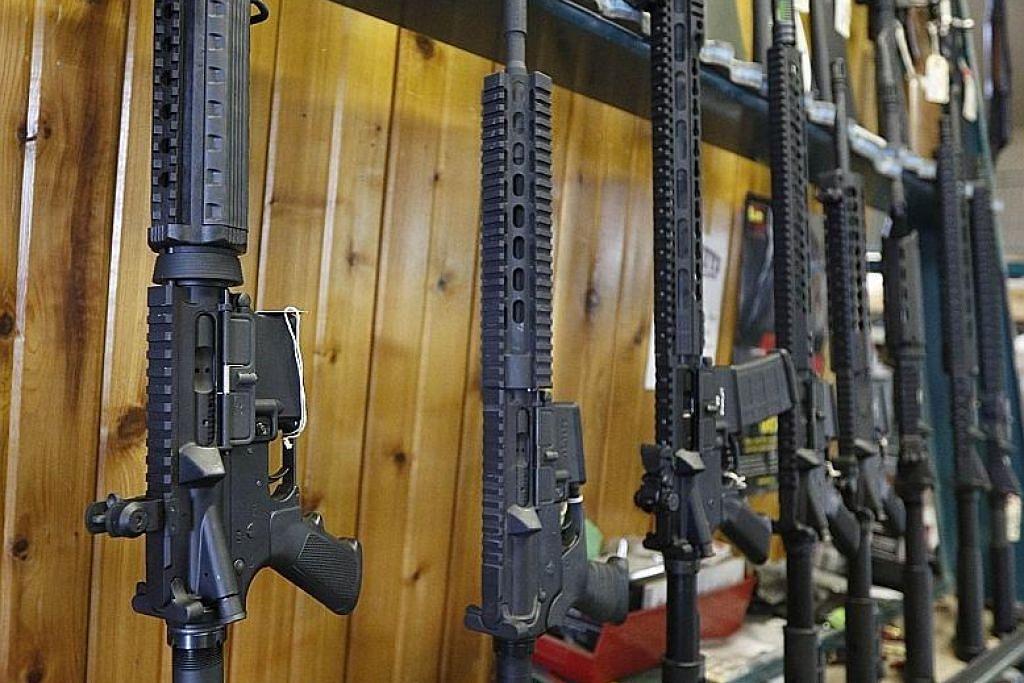 AR-15 dan 'cinta' Amerika dengan senjata tentera