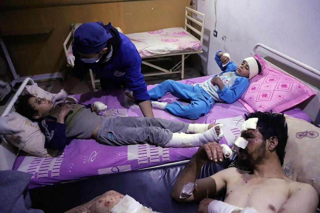Gas klorin disyaki diguna dalam serangan di Syria