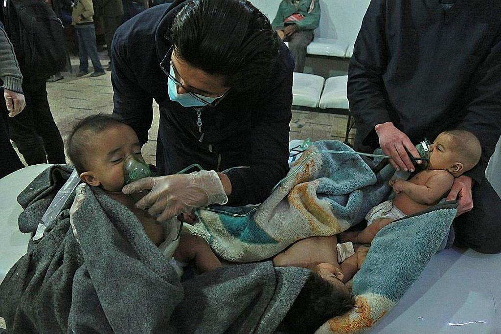 Kelegaan sejenak penduduk Ghouta