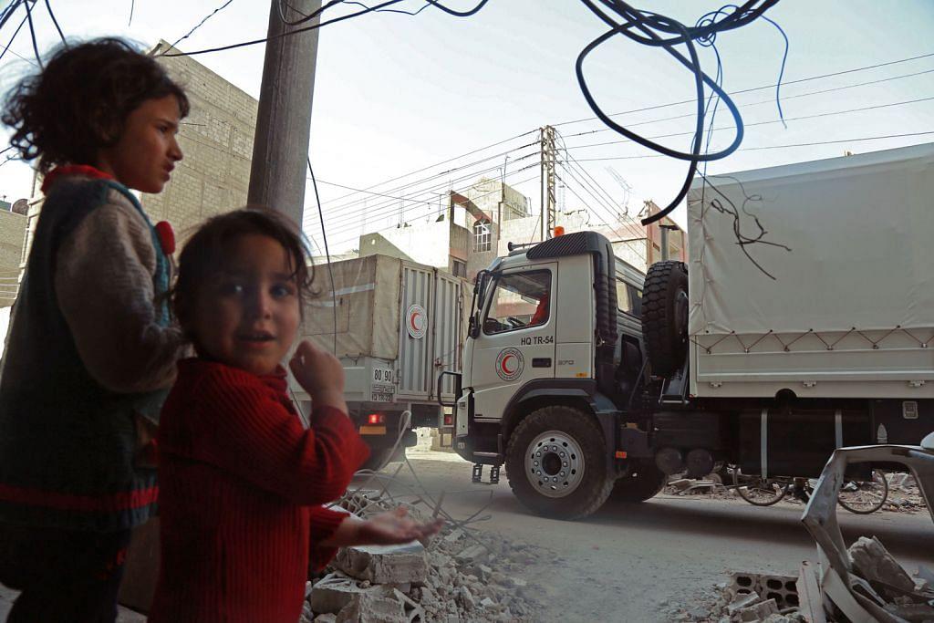 Misi bantuan di Ghouta terpaksa dipendekkan