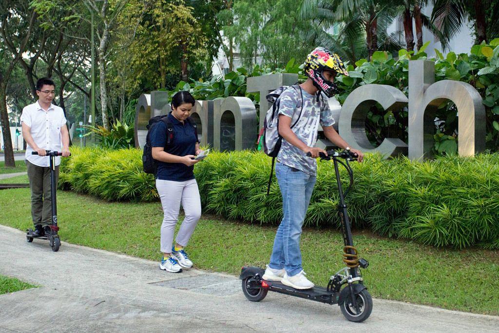 Pemilikan e-skuter perlu didaftar mulai separuh kedua 2018