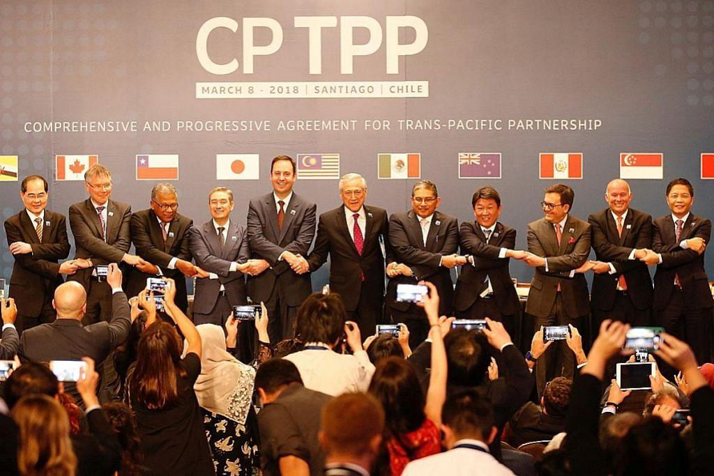 S'pura, 10 negara meterai perjanjian kerjasama rentas pasifik