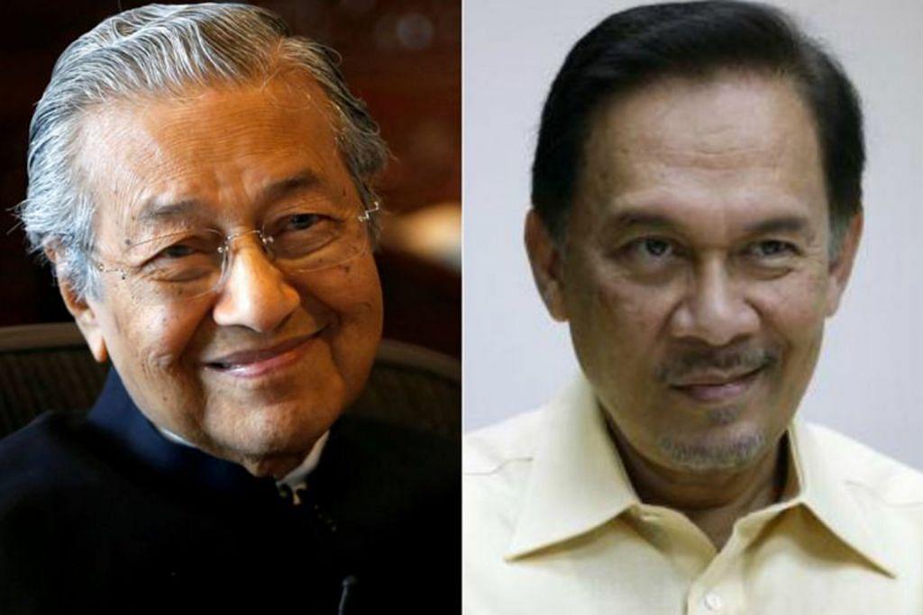 Mahathir mengaku silap pecat Anwar