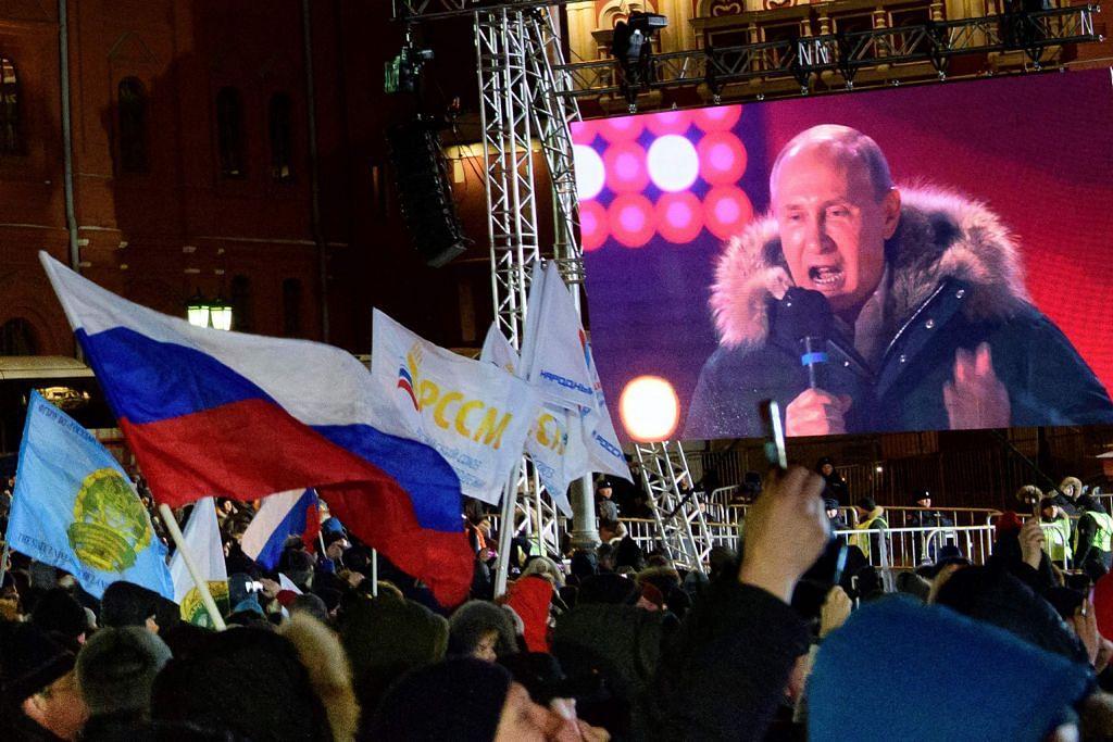 Putin dipilih jadi presiden Russia selama enam tahun lagi