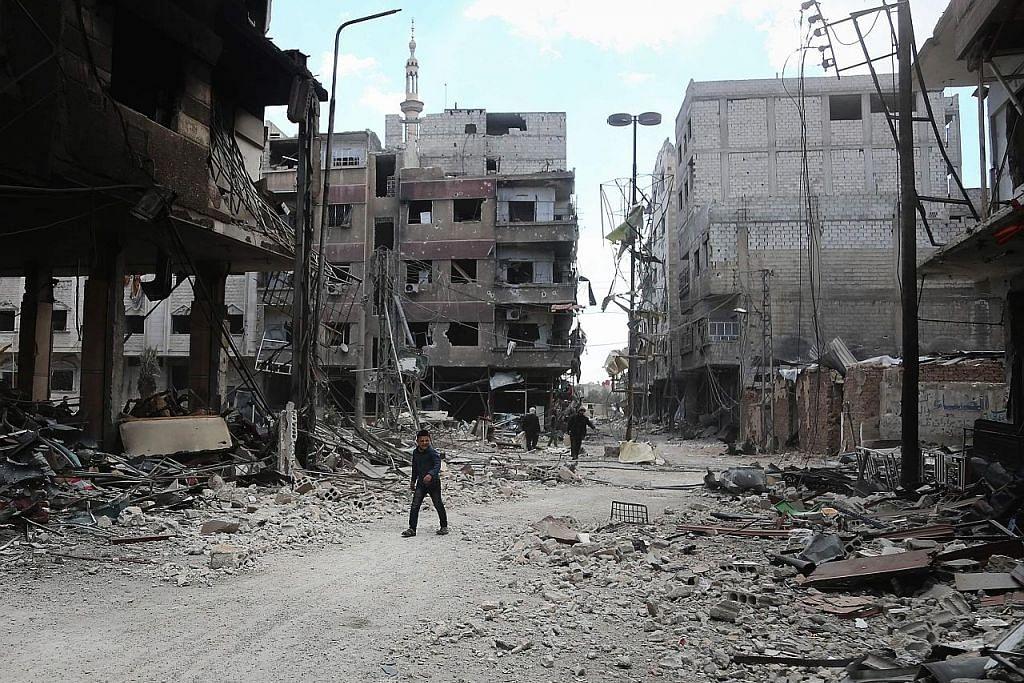 15 kanak-kanak maut dalam serangan di sekolah di Ghouta