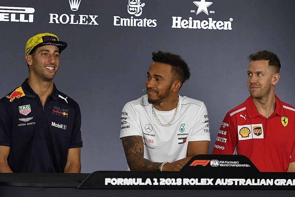 Jangkakan 'ledakan' bila Hamilton, Vettel buru kejuaraan dunia kelima