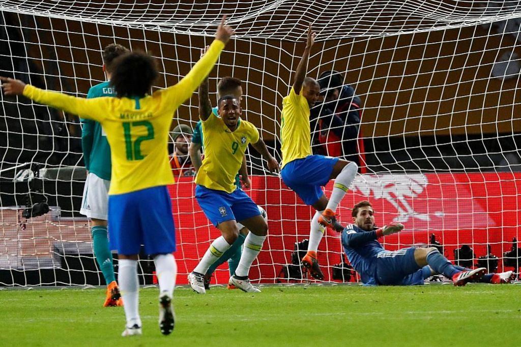 Brazil tebus maruah, Sepanyol belasah Argentina