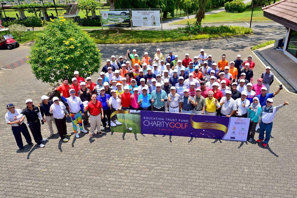 Acara golf amal ETF: $850,000 berjaya dikumpulkan