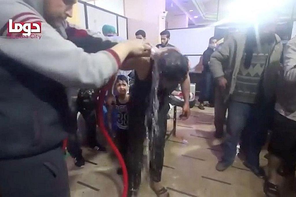 Serangan kimia: Trump beri amaran kepada Syria