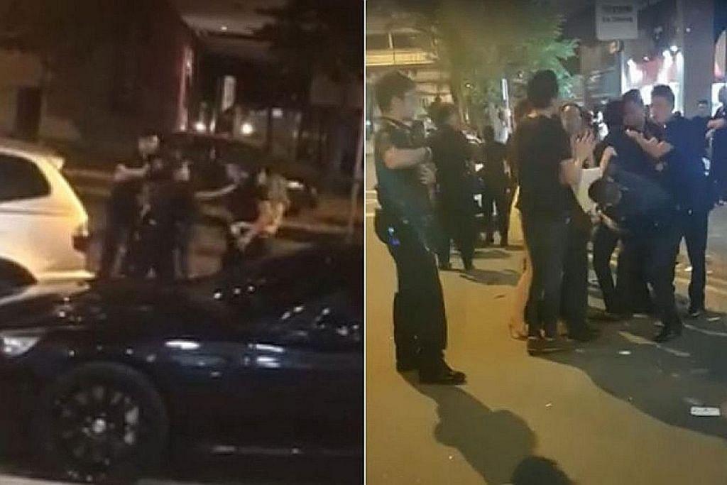 Polis: Video papar orang bergaduh di luar Peace Centre kes lama
