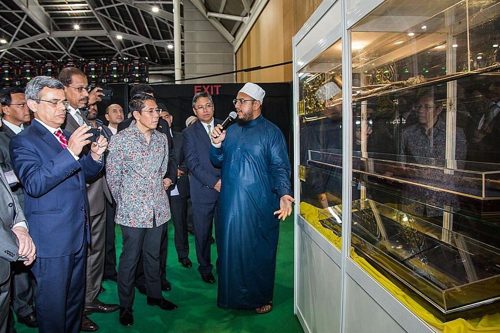 Pameran seni Islam dilancar di S'pore Expo