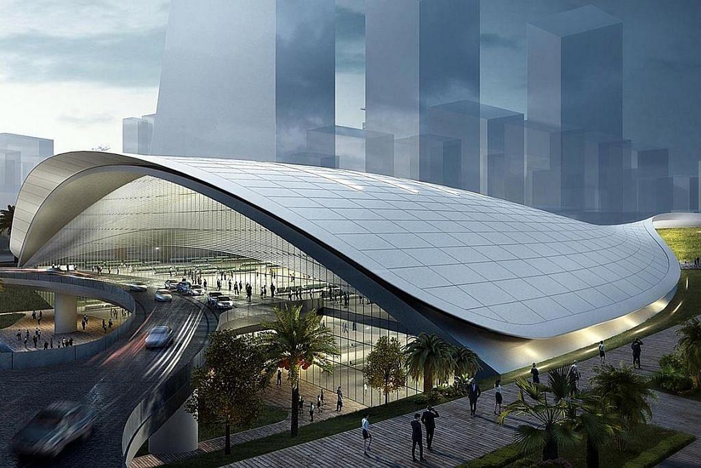 Pembinaan kereta api laju SG-KL di sini dijangka mula tahun depan