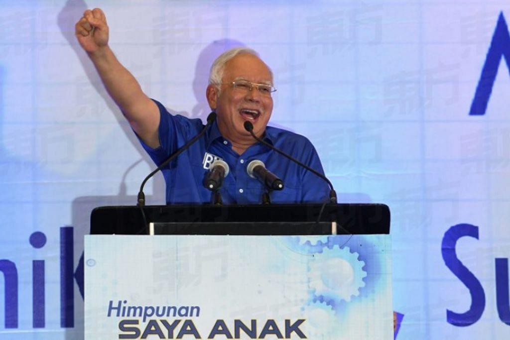 Najib nasihat pelajar Mara sokong BN, elak tsunami Melayu