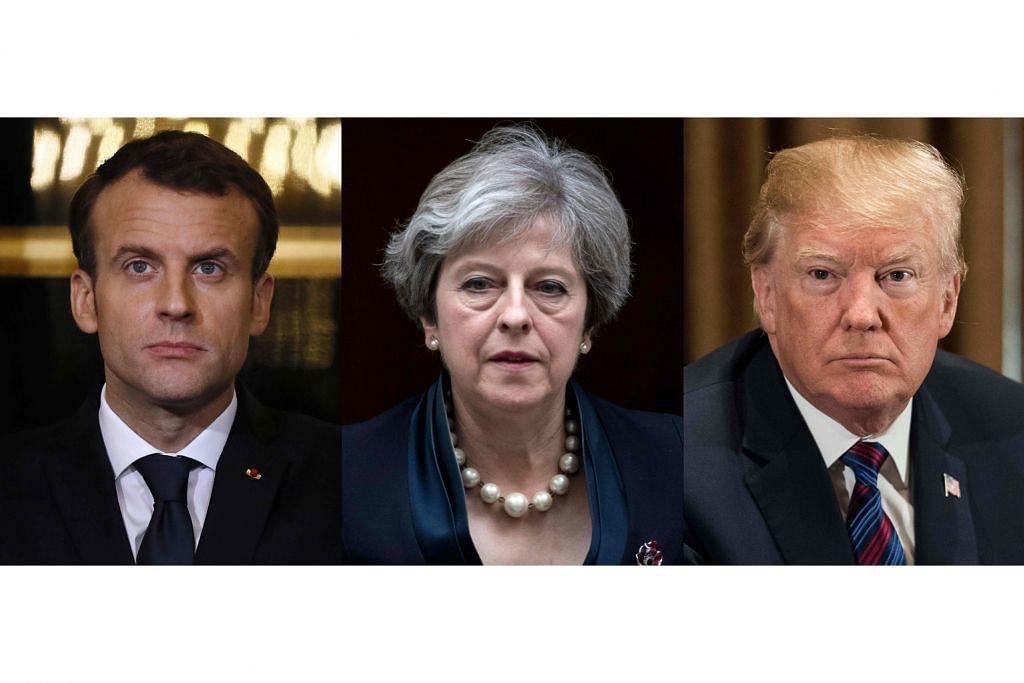 Tiga sekutu edar draf resolusi bersama di PBB