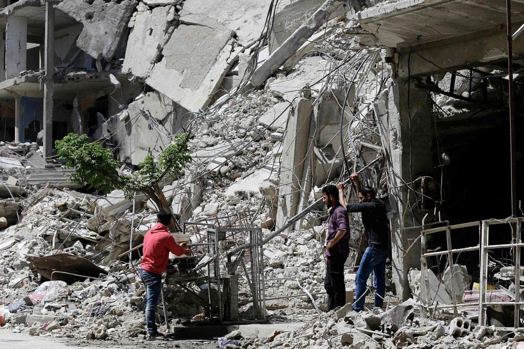 AS tuduh Russia 'usik' tapak serangan kimia di Douma bagi gagalkan siasatan
