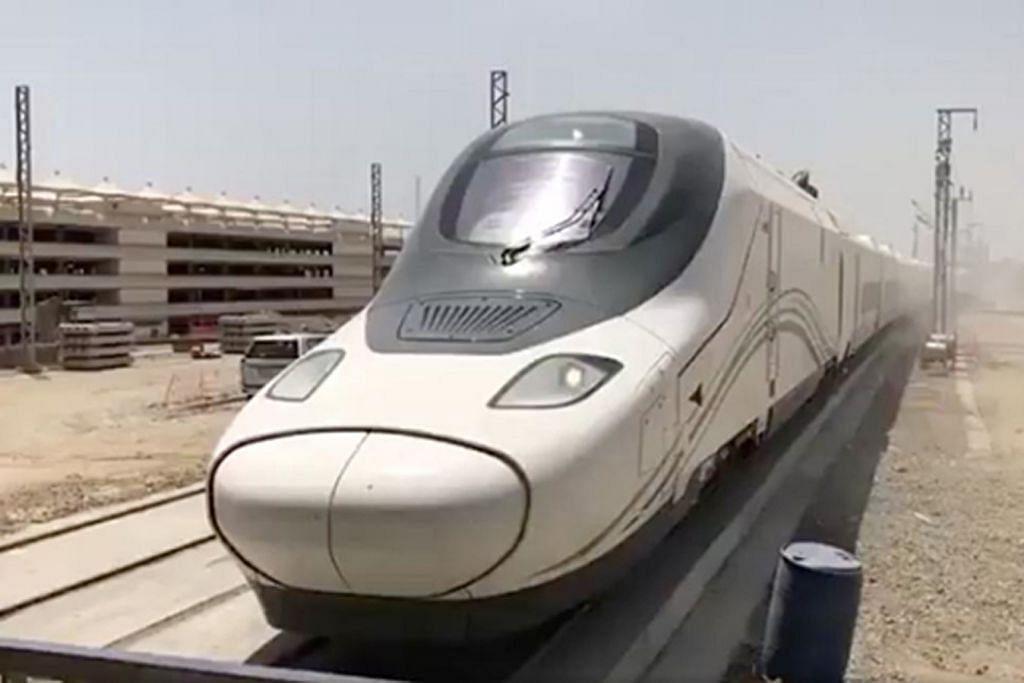 KERETA API LAJU HARAMAIN EXPRESS Madinah ke Makkah cuma 2 jam