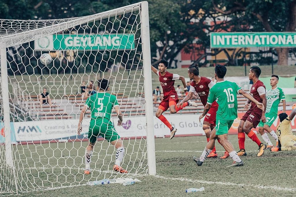 LIGA PERDANA SINGAPURA Sang Helang patah sayap, masih buru kemenangan pertama