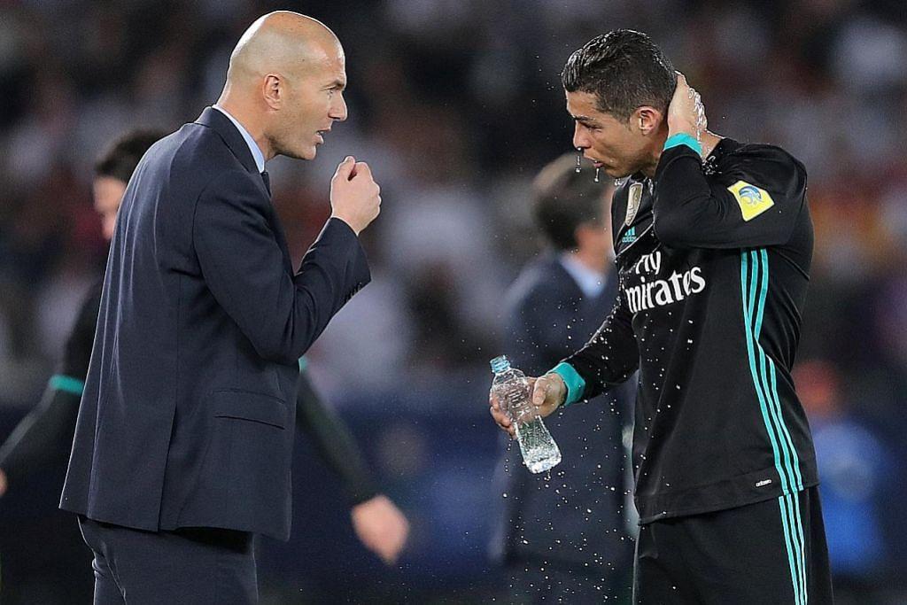 Ronaldo terajui cabaran Real bertandang ke padang Bayern