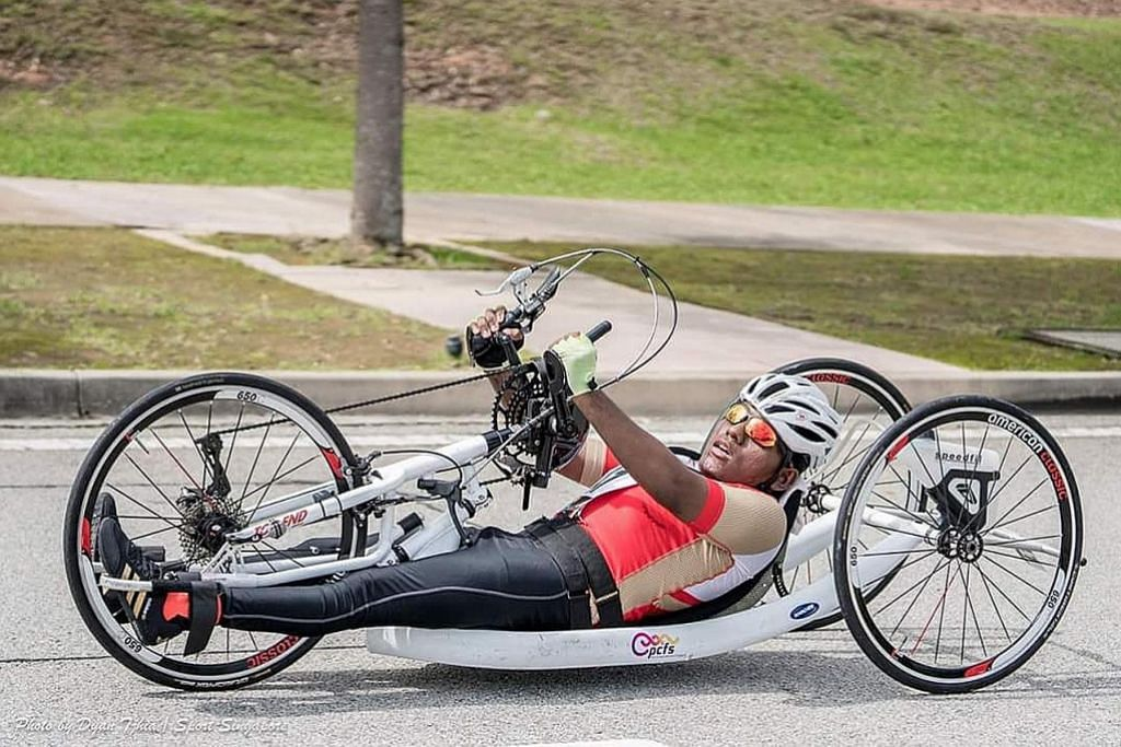Mahu terus aktif dalam sukan walaupun kurang upaya