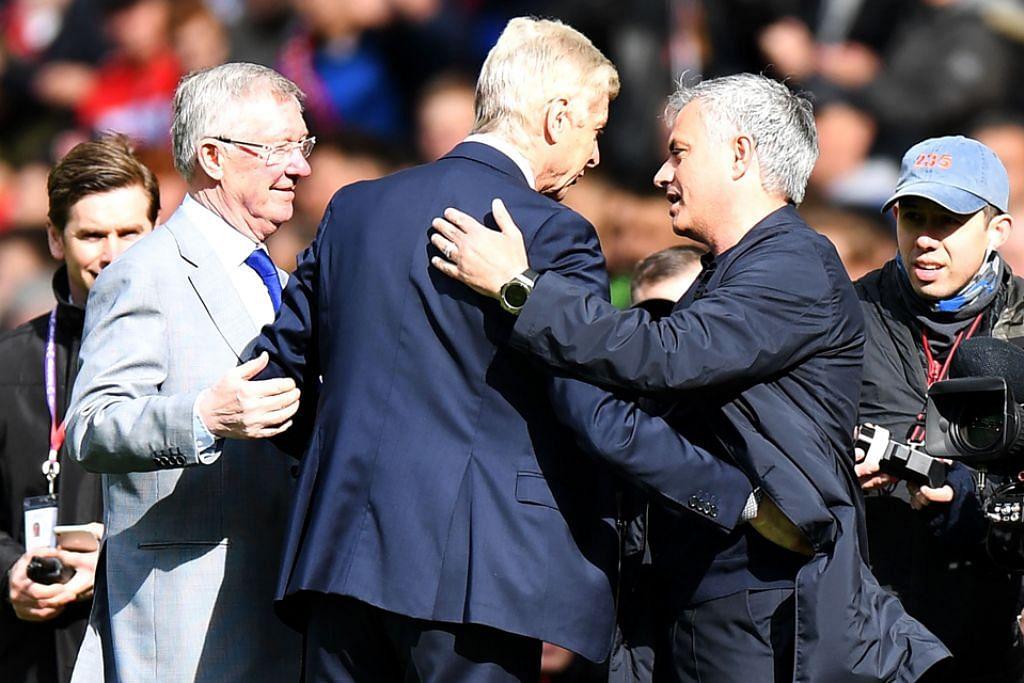 Penghargaan dari Ferguson, Mourinho