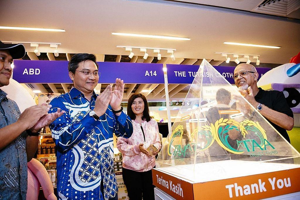 Tabung derma TAA pertama dilancar di Lapangan Terbang Changi