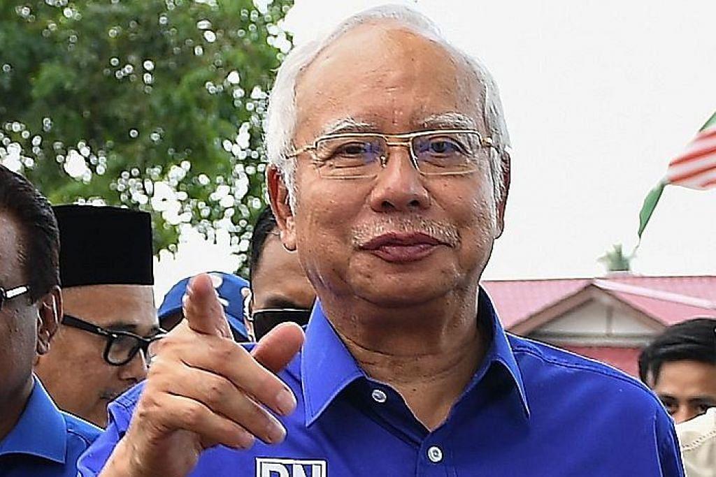 PILIHAN RAYA UMUM MALAYSIA Najib, BN yakin dapat mandat besar rakyat