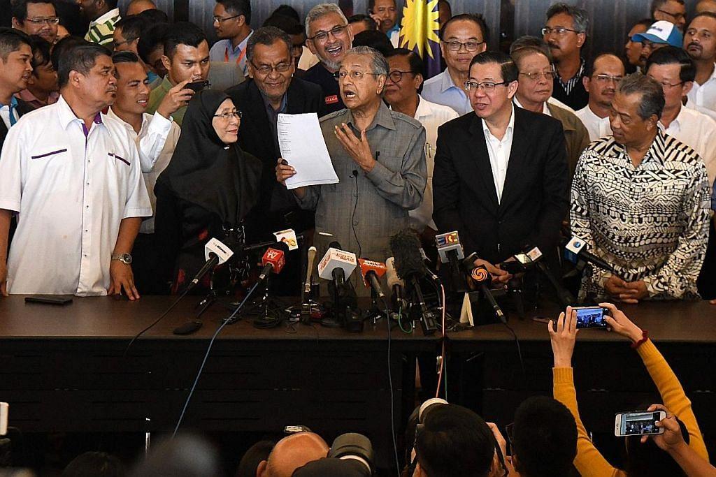 PILIHAN RAYA UMUM MALAYSIA Pakatan Harapan akan usahakan pengampunan diraja bagi Anwar