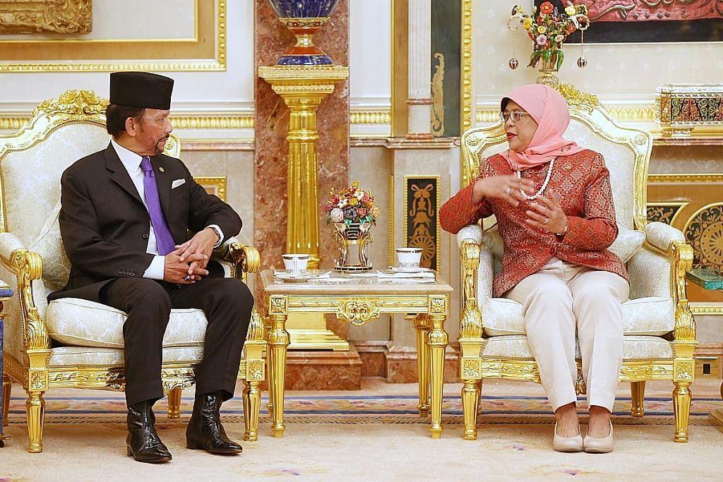 Kerjasama SG, Brunei diperkukuh