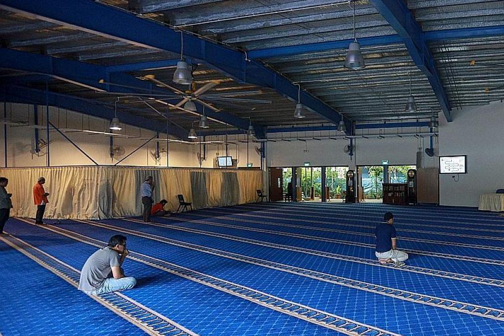Ruang tambahan, alat penghawa dingin demi keselesaan jemaah sempena Ramadan
