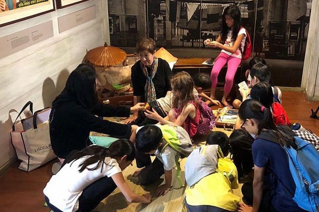 Kegiatan sempena cuti sekolah di Muzium Negara