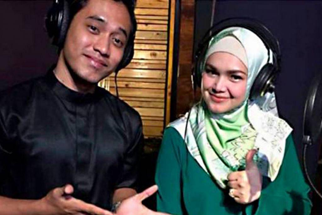 Khai bagaikan mimpi berpadu suara dengan Siti