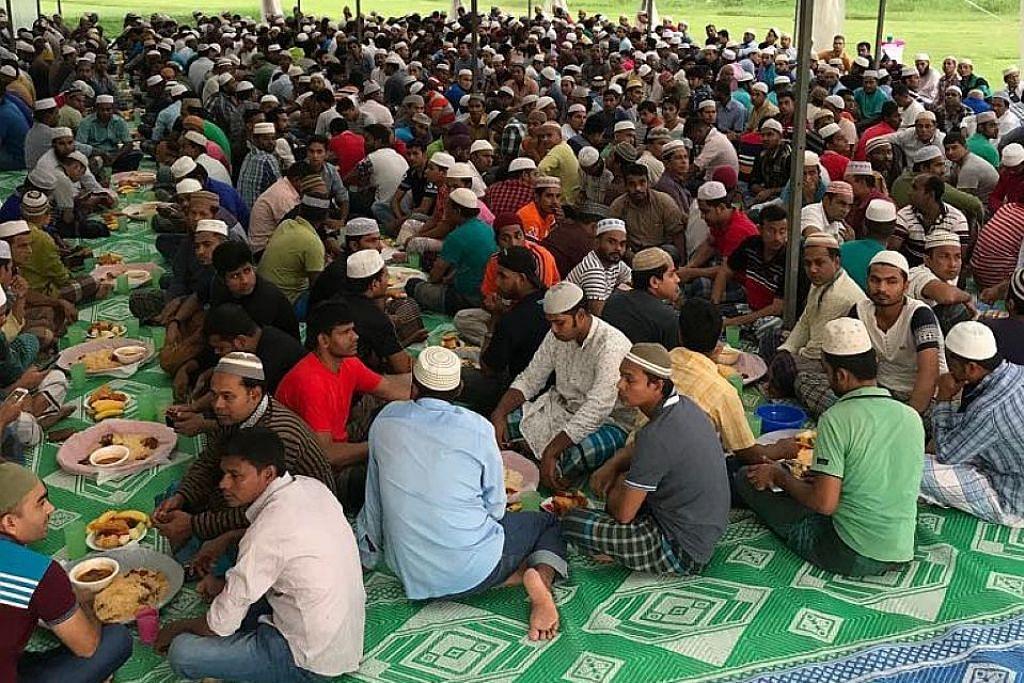 Masjid Al-Firdaus upaya sediakan keperluan iftar tampung ramai jemaah