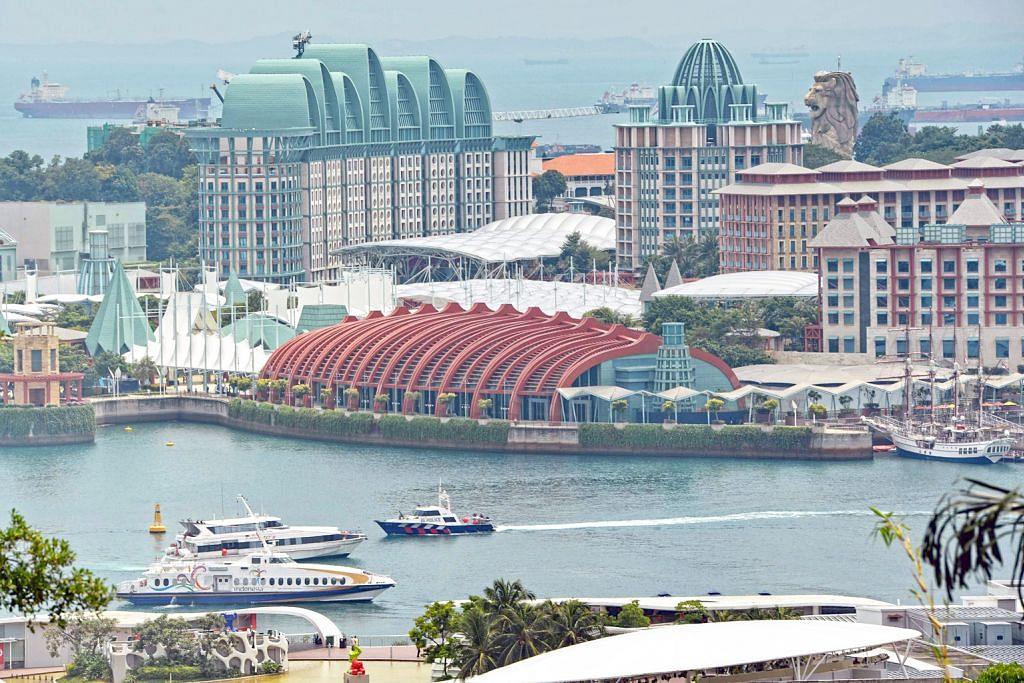 MENJELANG SIDANG PUNCAK AMERIKA SYARIKAT-KOREA UTARA Kawalan keselamatan lebih ketat di Tanglin dan Sentosa