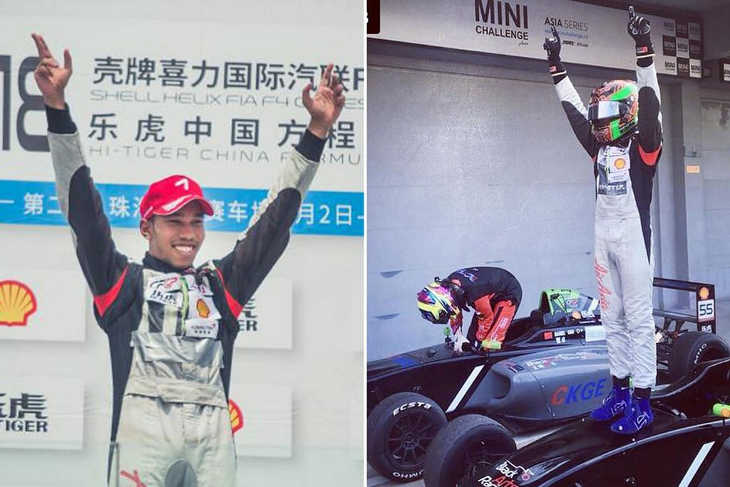 Daim juarai siri kedua di Litar Zhuhai