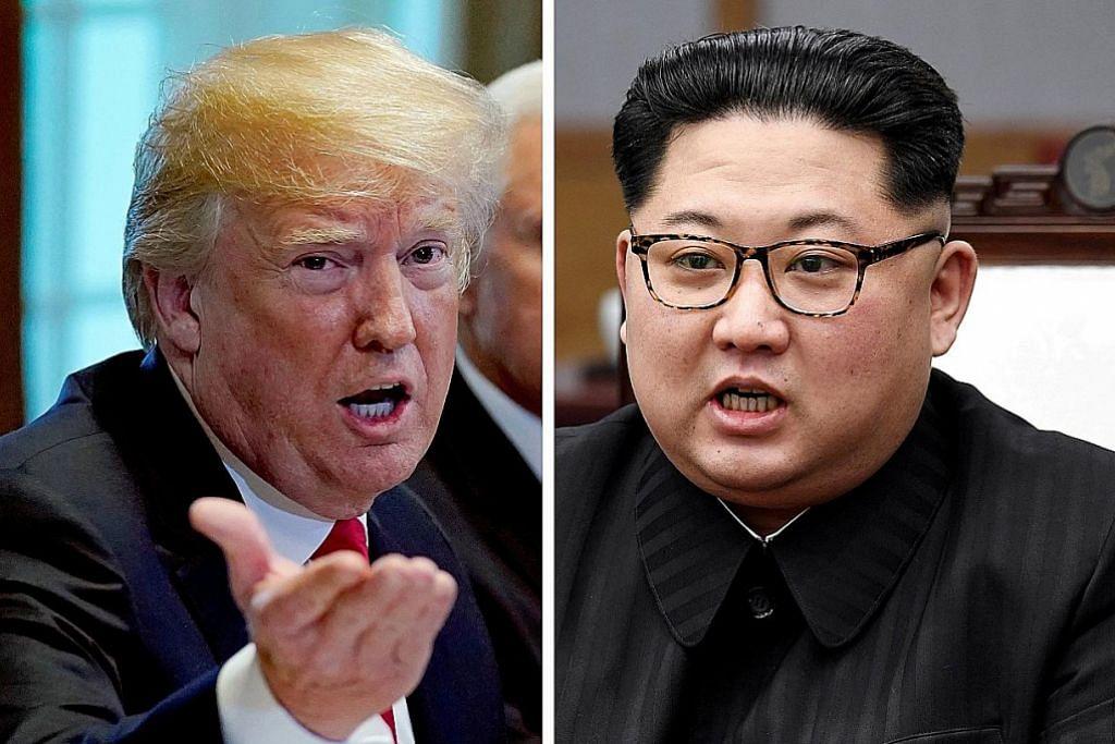 Trump, Kim dijangka tiba di Singapura hari ini