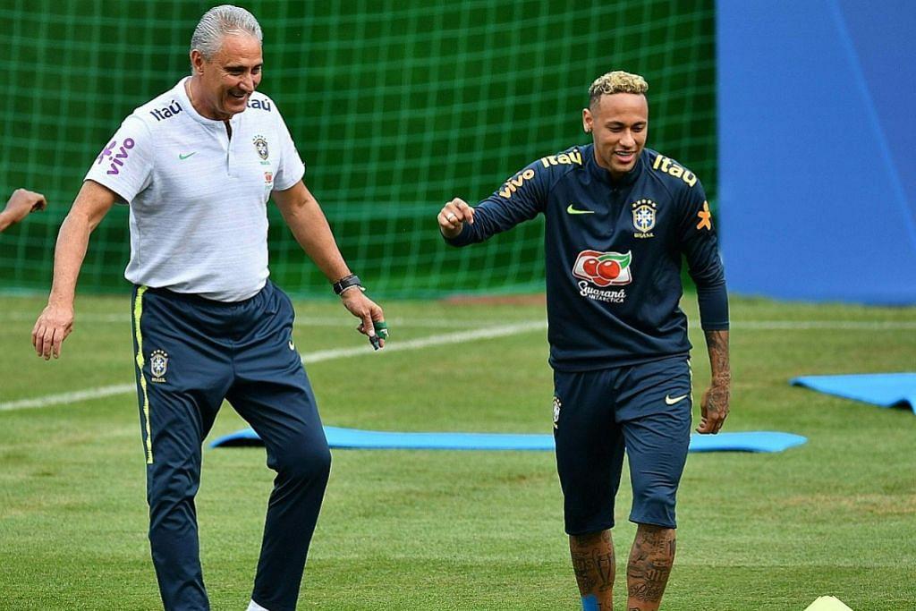 Neymar akan pastikan Brazil bukan sekadar menang samba