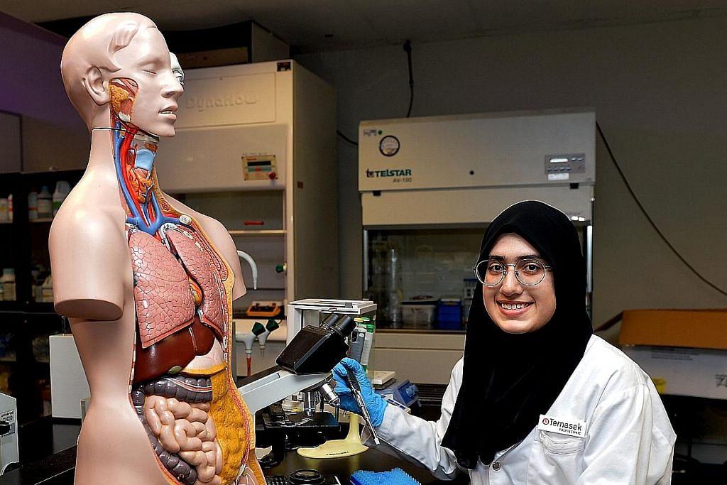 Orak langkah 'langsung' ke poly kerana ingin jadi jurutera bioperubatan